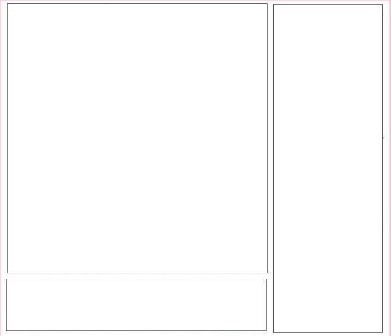 3 box Myspace div layout