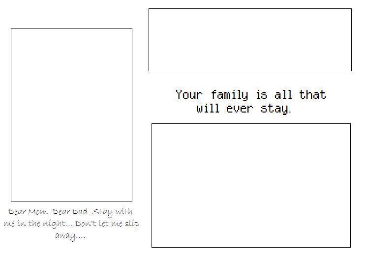 3 box family Myspace div layout