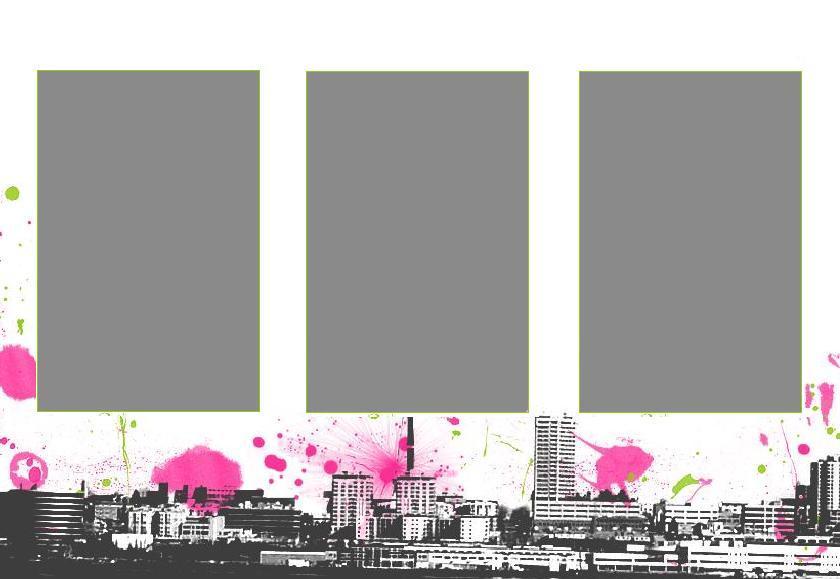 City myspace div layout