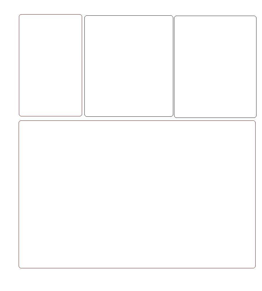 4 box 15 Myspace div layout
