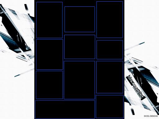 6 box 10 Myspace div layout