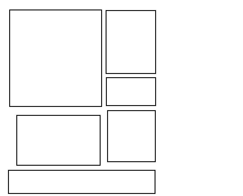 6 box 3 Myspace div layout