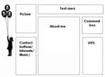 6 box 5 Myspace div layout