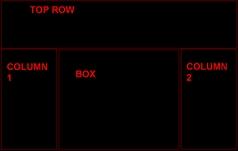 4 box 12 Myspace div layout