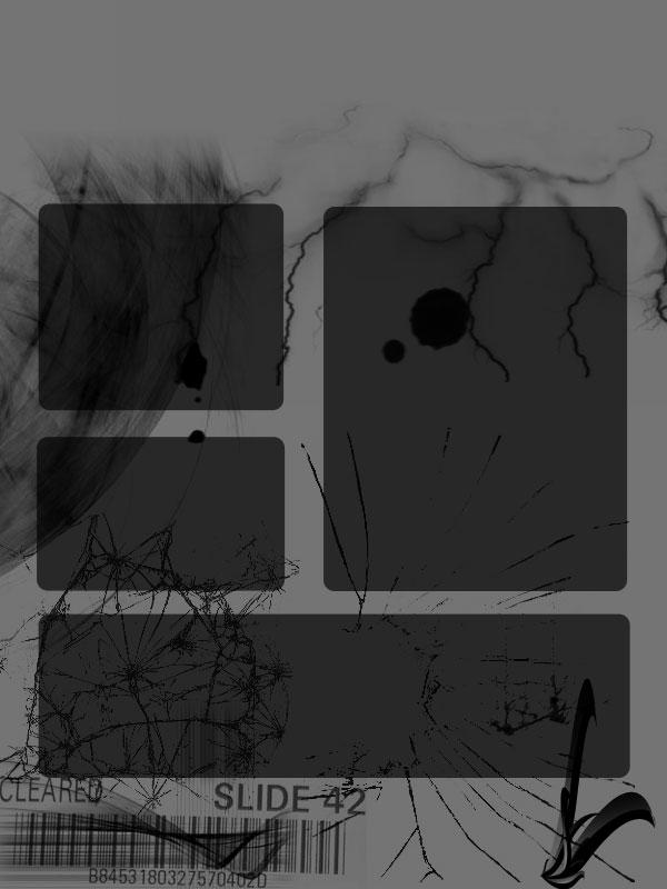 Black Art Myspace div layout