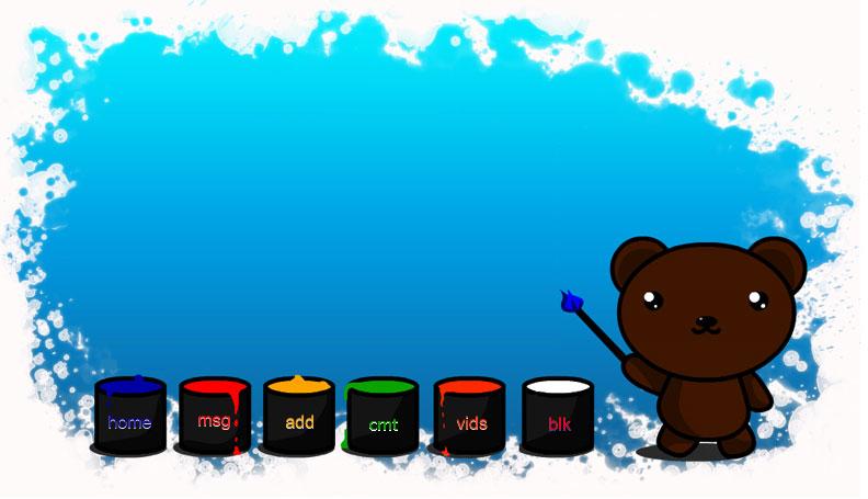 Baby Bear myspace div layout