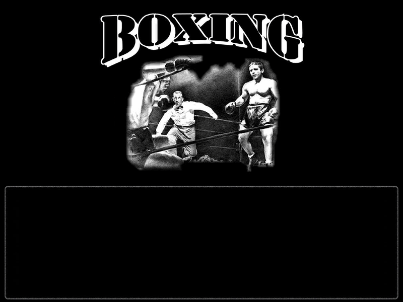 Boxing group Myspace div layout