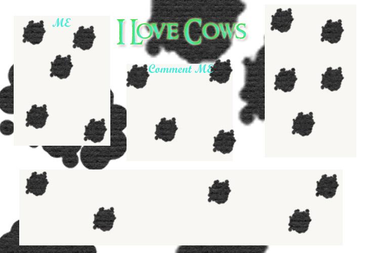 Cow Myspace div layout