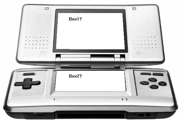 Nintendo DS Myspace div layout