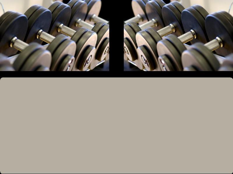 Fitness Myspace div layout