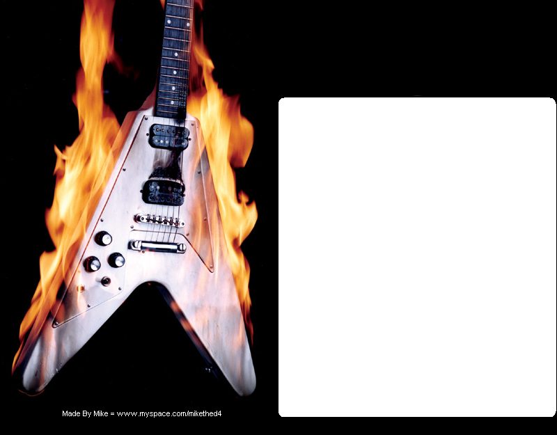 Flying V myspace div layout