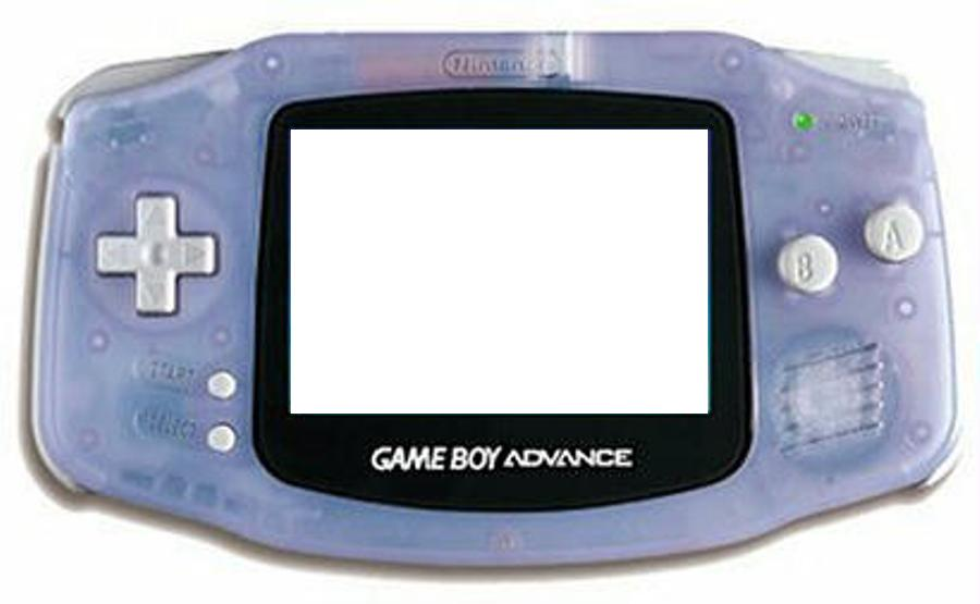Gameboy Advance Myspace div layout