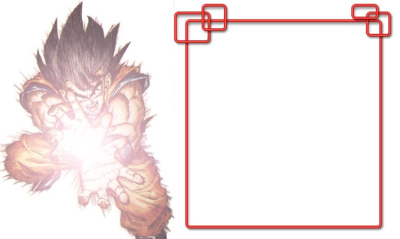 Goku Myspace div layout