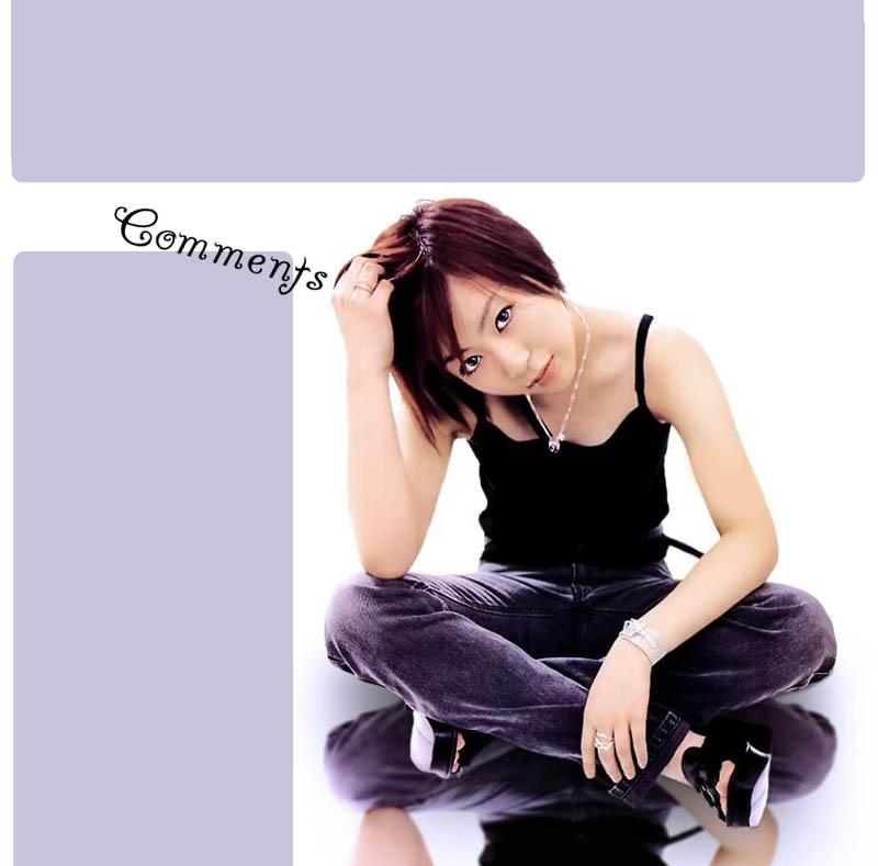 Utada Hikaru Myspace div layout