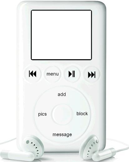 Ipod Myspace div layout
