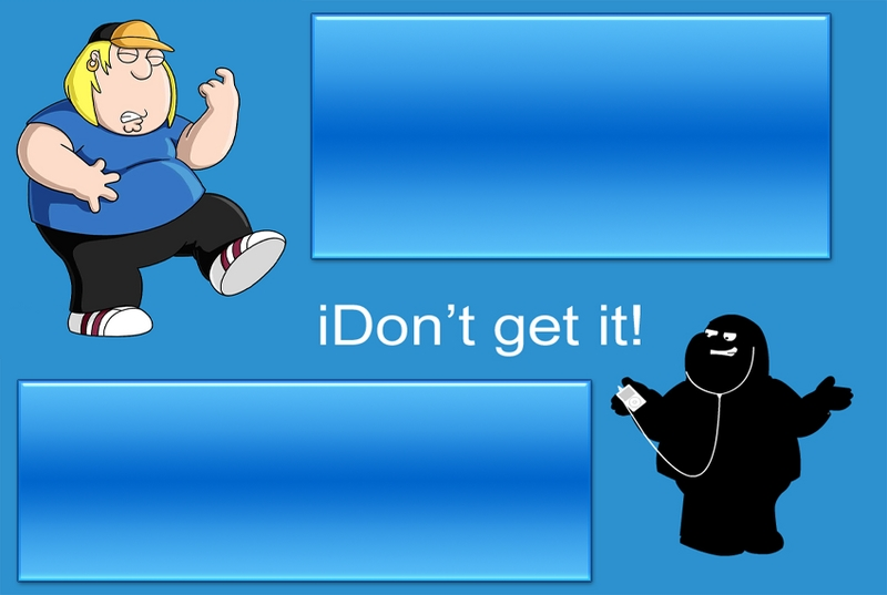 Family Guy - Ipod Myspace div layout