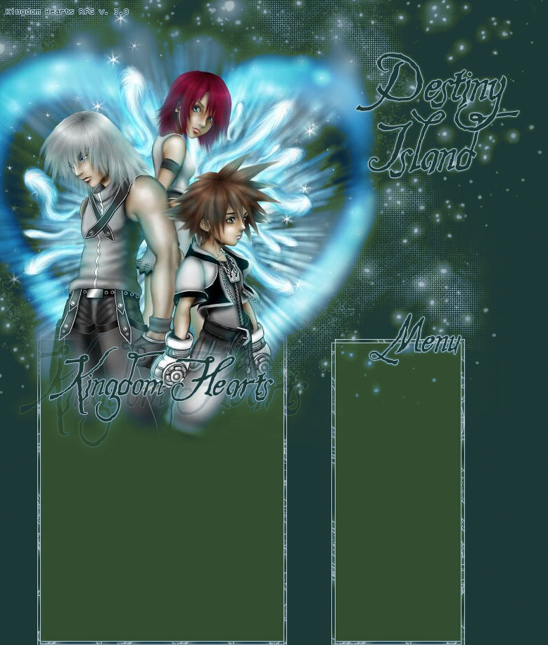 Kingdom Hearts 2 Myspace div layout