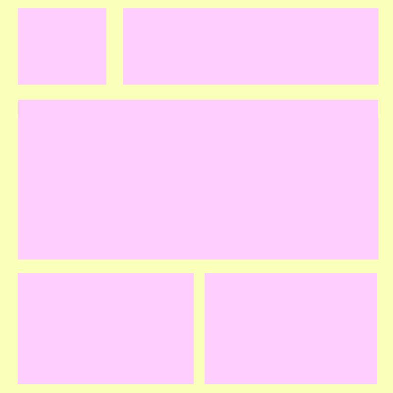Girly Myspace div layout