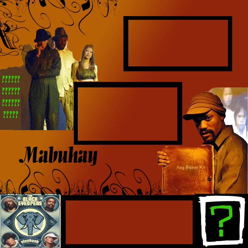 Black Eyed Peas Myspace div layout