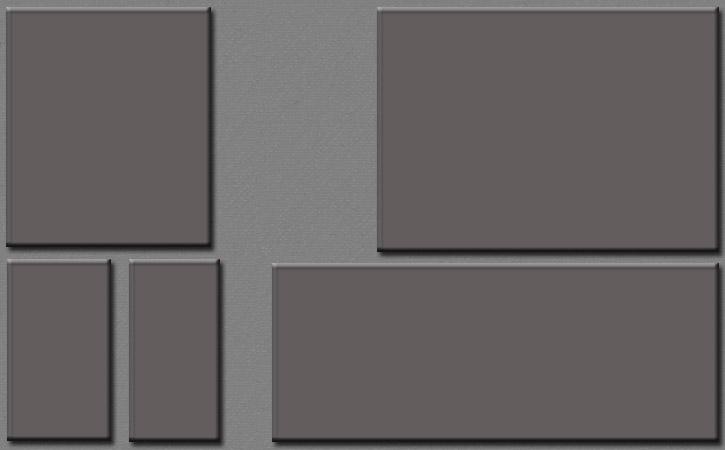 Metalic Myspace div layout