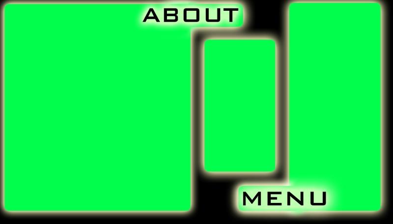 Neon Green Myspace div layout