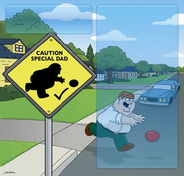 Family Guy - Special Dad Myspace div layout