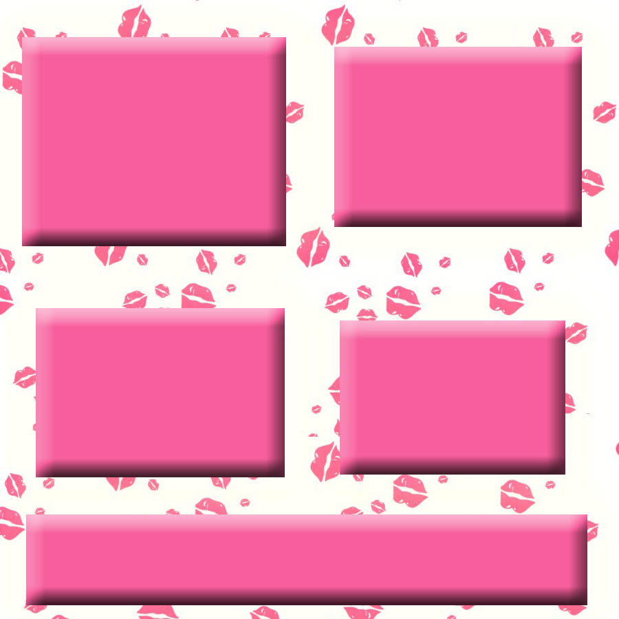 Pink Myspace div layout