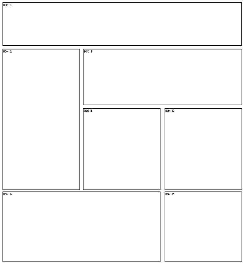 7 box 14 Myspace div layout