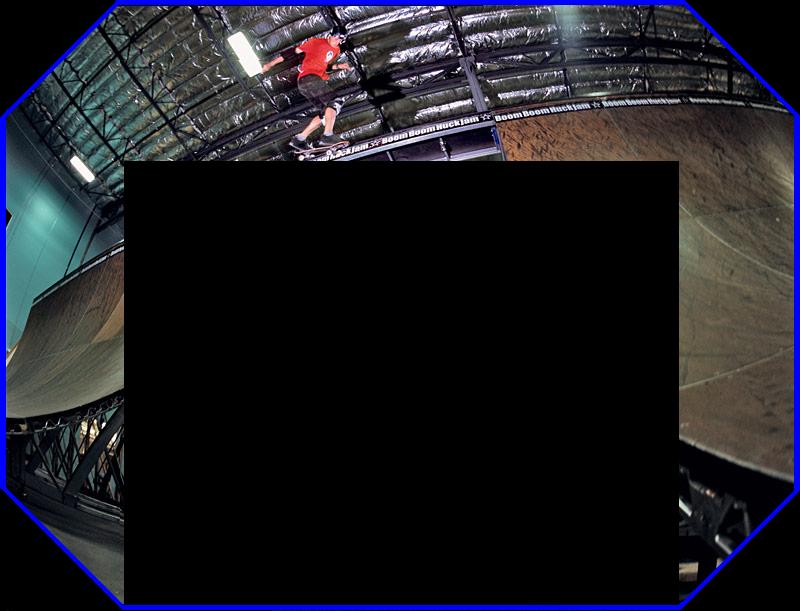 Skateboarding Myspace div layout