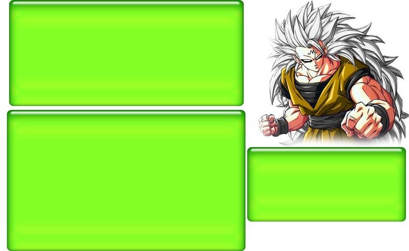 Super Goku Myspace div layout