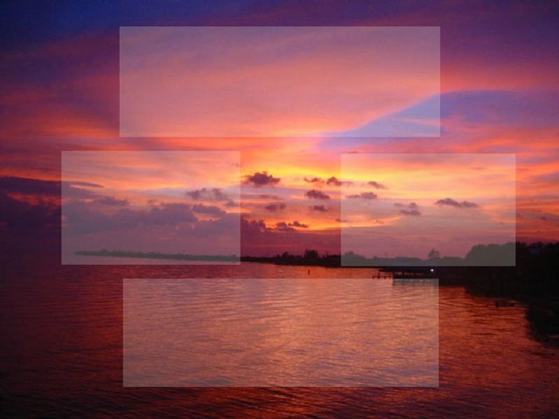 Tropical Myspace div layout