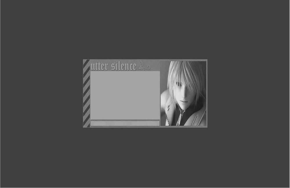 Utter Scilence Myspace div layout
