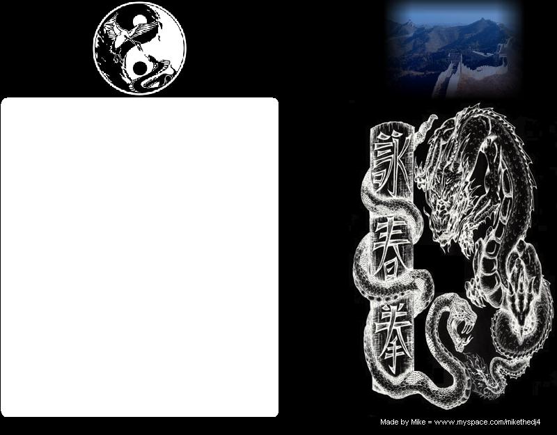 Wing Chun Myspace div layout